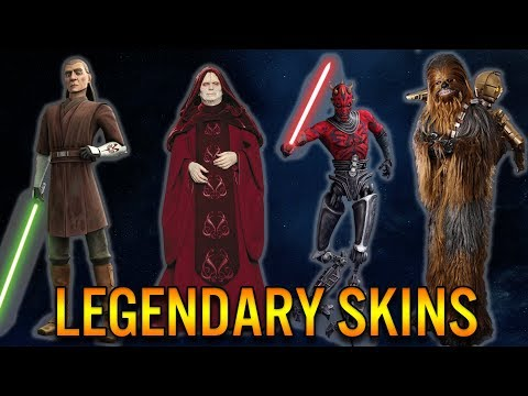 Legendary Skins We NEED - Star Wars: Battlefront 2 Cosmetics