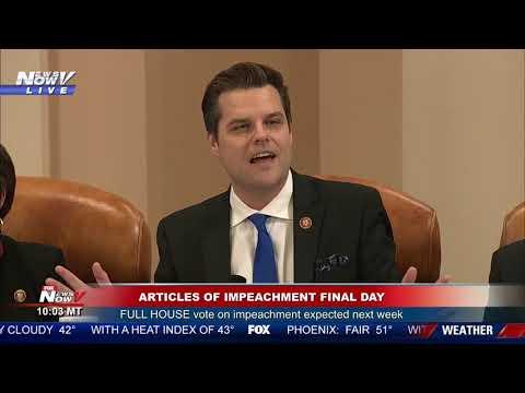 The Conservative Circus with James T. Harris - Watch Rep Matt Gaetz Expose Joe Biden's Crack Head Son During Impeachment
