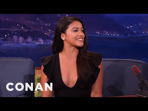 Gina Rodriguezs Dad Taught Her To Box - CONAN on TBS