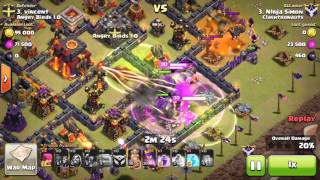 Clash of Clans - Clan War Recap: Clashtronauts vs. Angry Birds