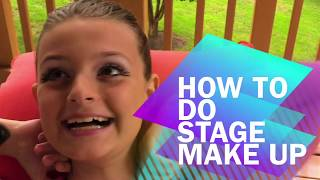 HOW TO DO STAGE MAKE UP FOR BALLET AND OTHER DANCE PERFORMANCES