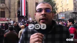 رصد | أطباء من أمام دار الحكمة:  جينا عشان كرامة الطبيب وحسينا بالإهانة للاعتداء على أطباء المطرية