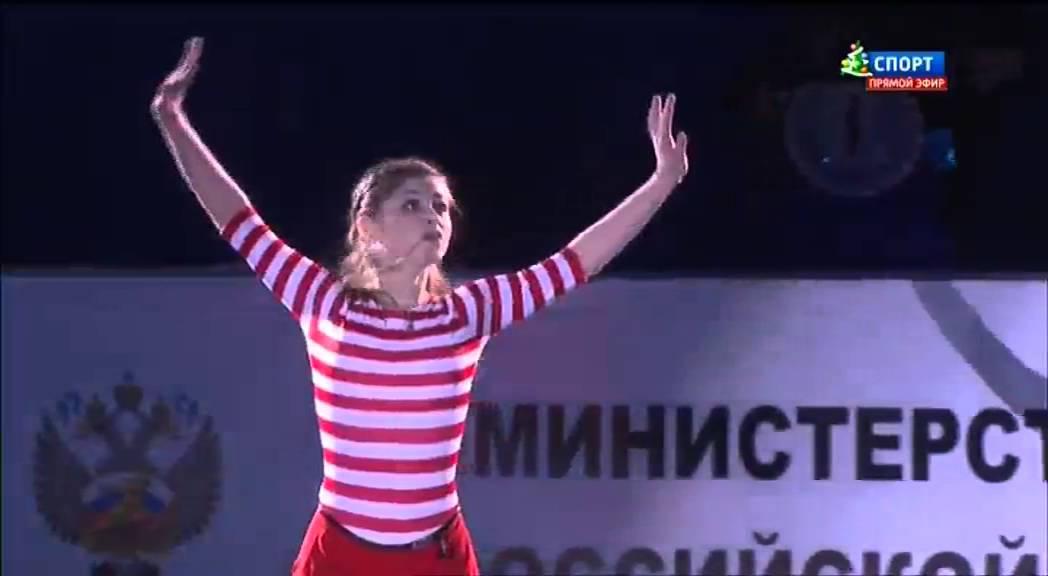 видео фигурное катание чемпионат россии показательные выступления 27 12 2017