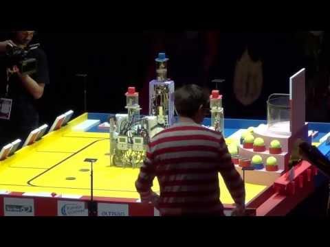 2013 - Supaero Robotik Club vs OLEG - Coupe de France de robotique 2013