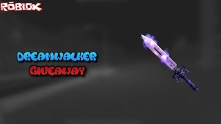 HOW TO WIN A FREE DREAMWALKER! *GIVEAWAY* (ROBLOX ASSASSIN DREAM WALKER GIVEAWAY)