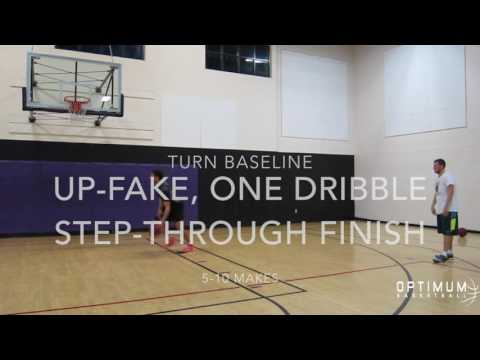 Optimum Basketball Workout: Post Moves & Counters (part 1)