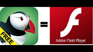 Flash Player Para iPhone/iPad/iPod Con Puffin (No Jailbreak) 