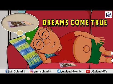 SPLENDID TV COMEDY TOON - DREAMS COME TRUE