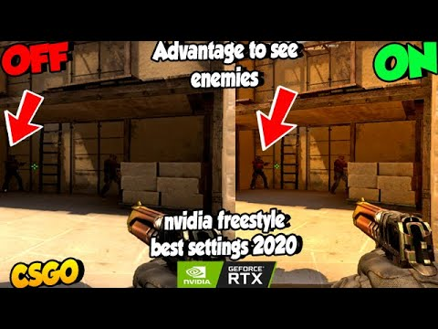 Best nvidia options for smokes in csgo