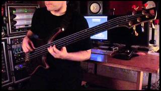 "Cynic ""Veil of Maya"" Bass Play-Through by Sean Malone"