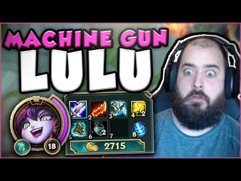 THIS MACHINE GUN LULU BUILD IS ACTUALLY LEGIT! ON-HIT LULU TOP GAMEPLAY SEASON 7! League of Legends