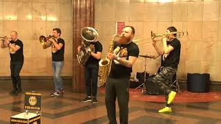 Баба Бомба ,,Ленинград''-- Brevis Brass Band