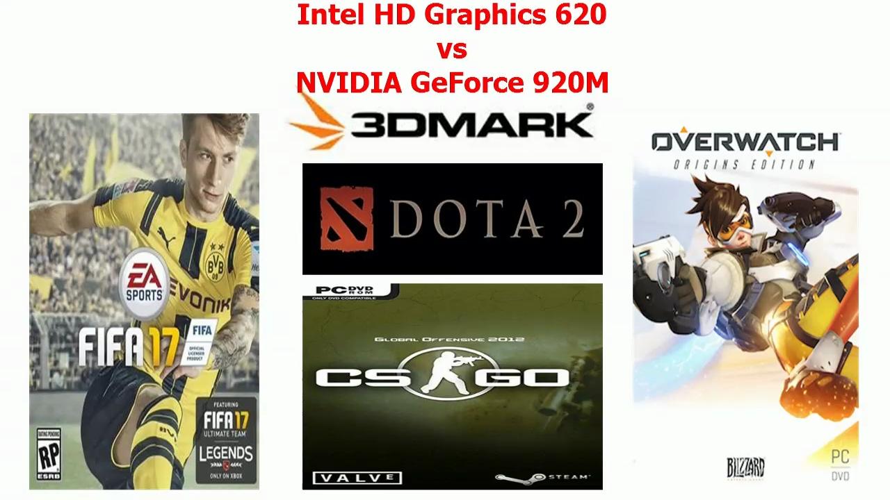 intel hd graphics vs nvidia geforce 920m