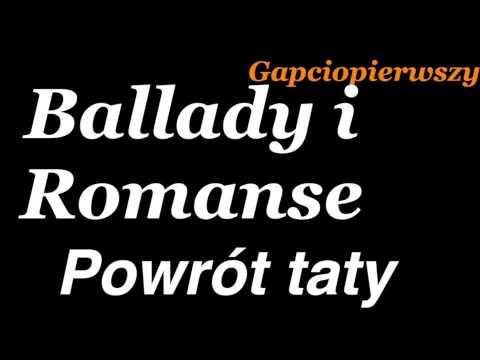 Powrót Taty Adam Mickiewicz Ballady I Romanse