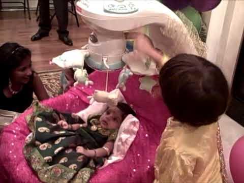 Sahasra Cradle Ceremony