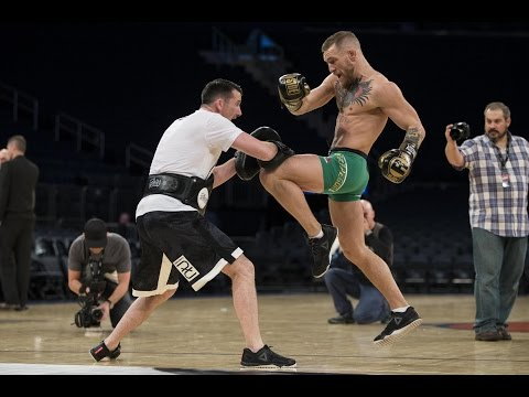 Thumbnail: Conor McGregor Full UFC 205 Open Workout