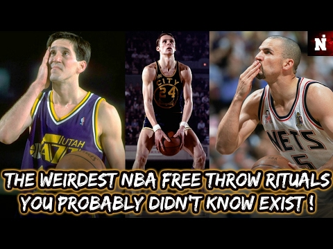 The Weirdest NBA Free Throw Rituals You Probably Didn't Know Exist !