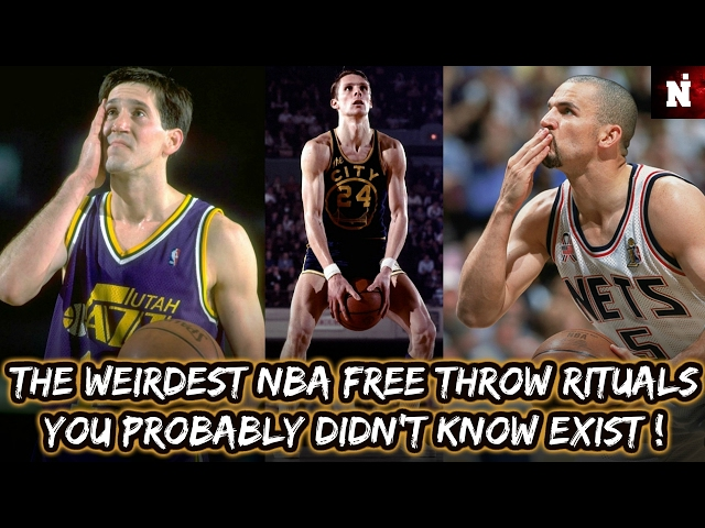 The Weirdest NBA Free Throw Rituals You Probably Didn't Know Exist!