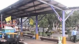 Kanchanaburi Province, River Kwai Station the trip back to Bangkok, Thailand. ( 34 )