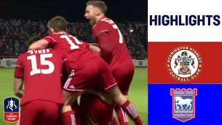 Kee Scores Late to Upset Ipswich | Accrington Stanley 1-0 Ipswich Town | Emirates FA Cup 18/19