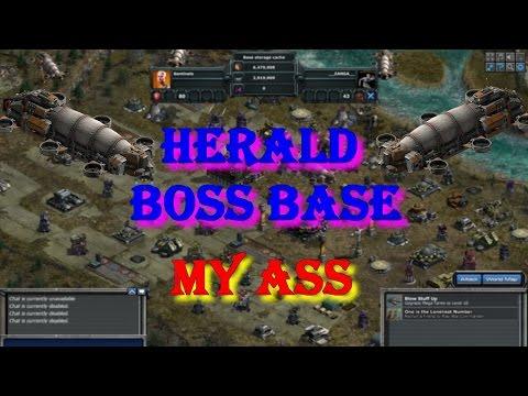 War Commander : Herald Boss Real Joke Bases  by __ZANGA__