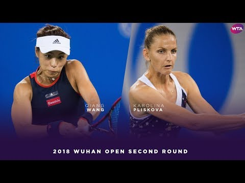Karolina Pliskova vs. Qiang Wang | 2018 Wuhan Open Second Round | WTA Highlights 武汉网球公开赛