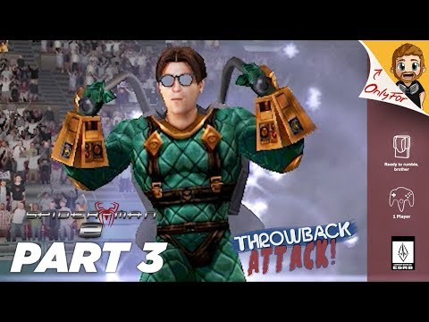 Spider-Man 2 (Game) Part 3 | MYSTERIO ARENA GAME (Throwback Attack)
