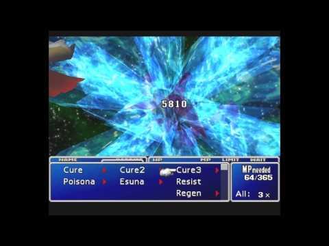 NetMoverSitan Plays Final Fantasy VII - Part 141 - Crimson Serving