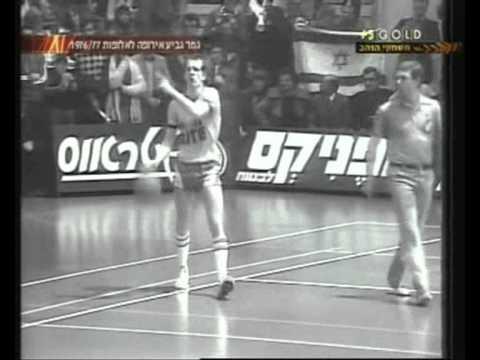 """גביע אירופה 1977,בית הגמר,מח' 7, מכבי ת""""א - צסק""""א מוסקבה 79:91"""