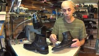 Кремкраска убийца обуви. Уход за обувью.
