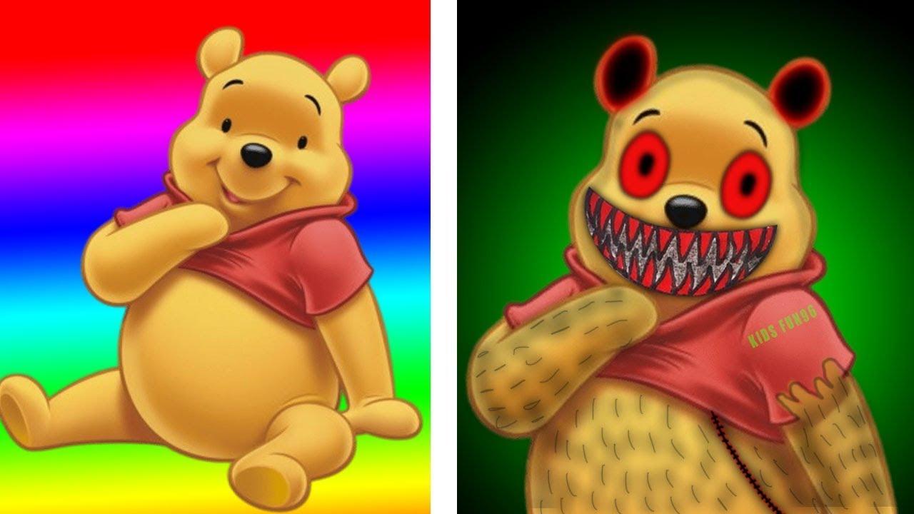 winnie the pooh as zombie 😲😲😲  youtube