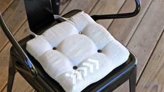 How To : Make A Chair Seat Cushion