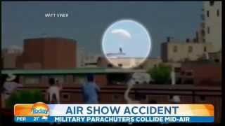 Tragic final moments of skydiver who struck building at Chicago Air and Water Show