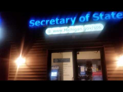 Renewing License Plate Tabs Using Kiosk In Michigan