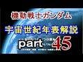 【機動戦士ガンダム】ゆっくり 宇宙世紀 年表解説 part45