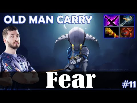 Fear - Sven Safelane | OLD MAN CARRY 7.19 Update Patch | Dota 2 Pro MMR Gameplay #11 thumbnail