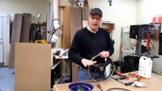 Bandsaw Tire Replacement