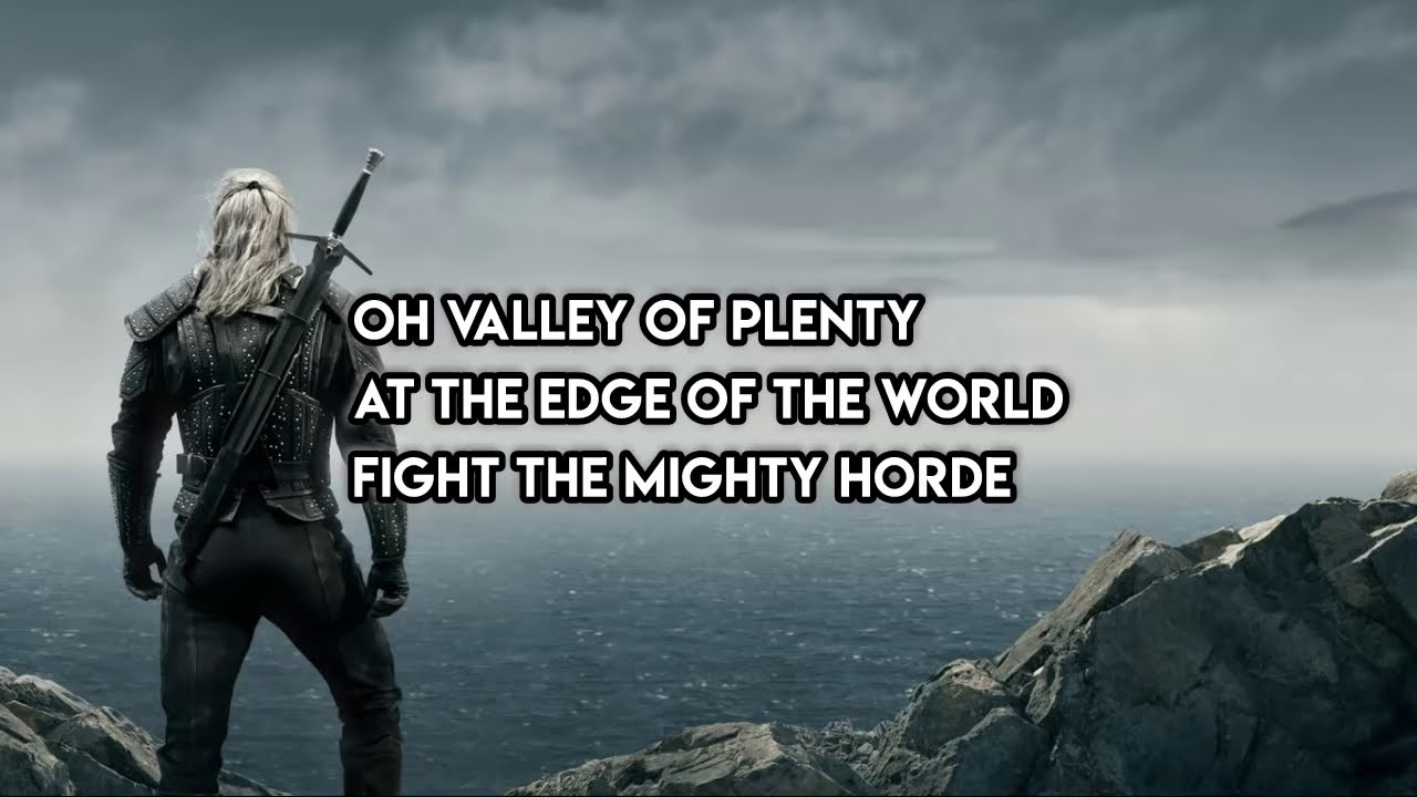 The Witcher Soundtrack - Toss A Coin To Your Witcher Lyrics