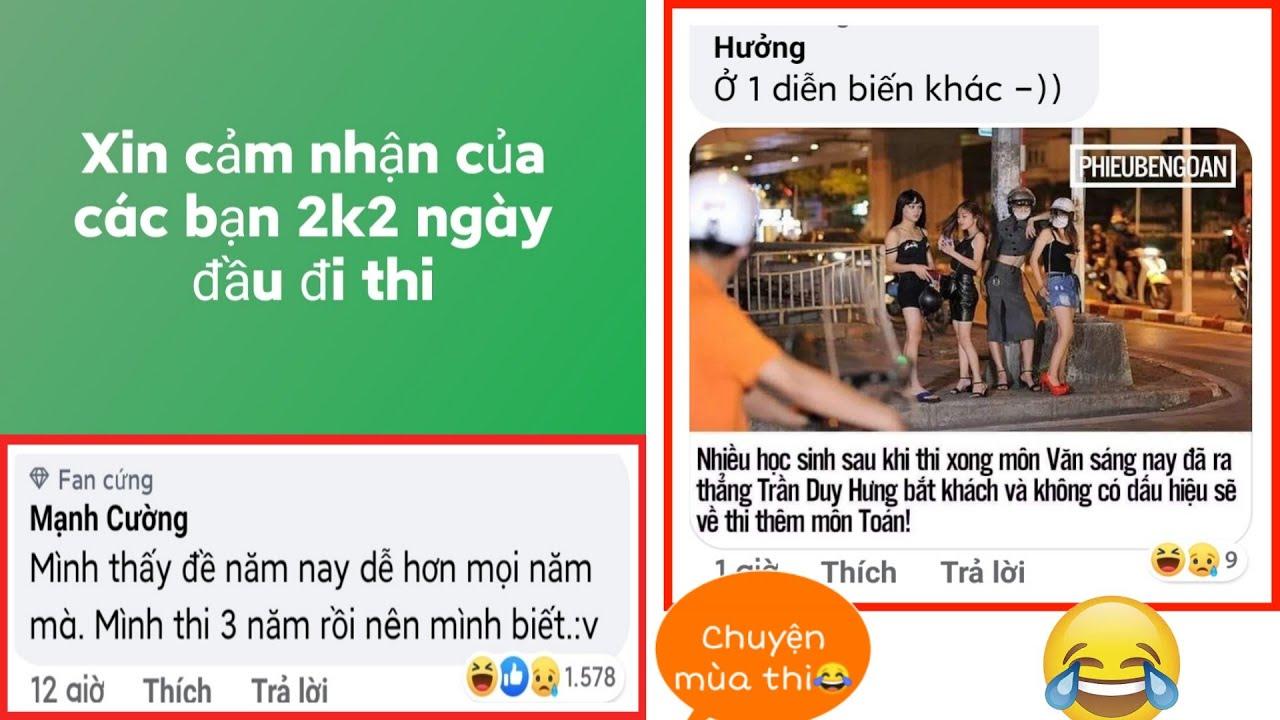 Top những comment bá đạo nhất trên FB - Chuyển mùa thi của các bạn 2k2