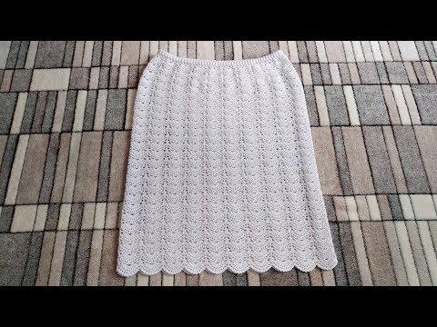 Вязание крючком юбок для женщин
