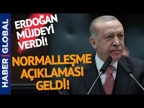 Ve Şahane Haberi Erdoğan Verdi! Normal Hayata Geri Dönüyoruz!