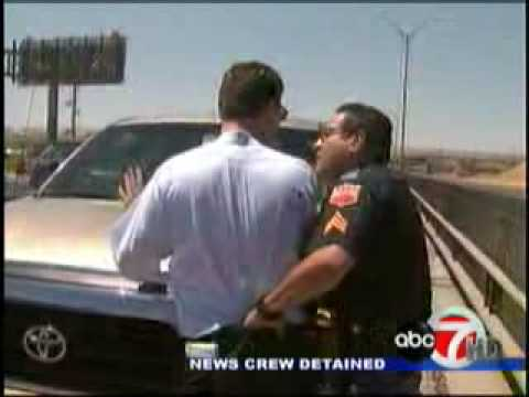 News Reporter Arrested by Police Officer In El Paso Texas