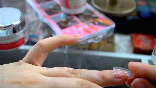 Tutorial Unhas de Porcelana (Dual Form)  ♡ Pracy In Wonderland