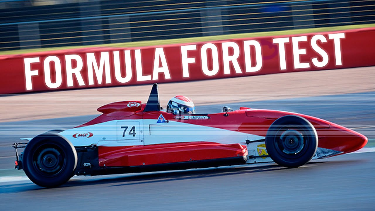Formula Ford Test Van Diemen RF00 Kirkistown