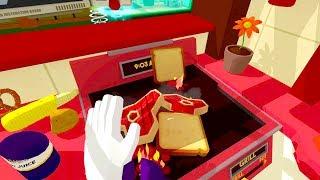 Job Simulator - Head Chef (HTC VIVE : Job Simulator Part 3)