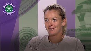 Coco Vandeweghe Wimbledon 2017 fourth round press conference