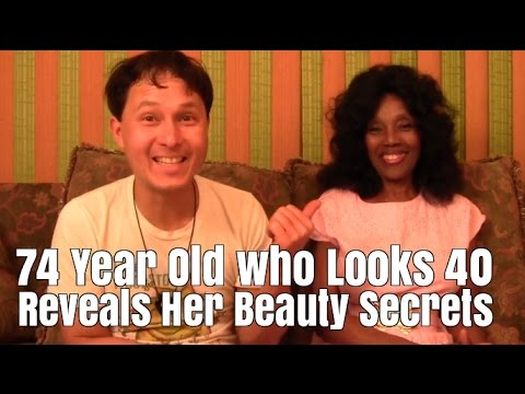 74 Year Old who looks 40 Reveals Her Beauty Secrets that Mak