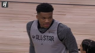 Team Giannis - Players Introductions - 2020 NBA All-Star Practice