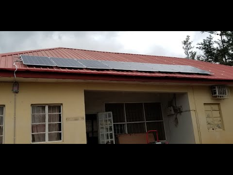 Solar Power comes to Jos