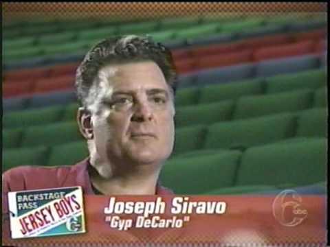 Joe Siravo in 6abc jersey boys special  1